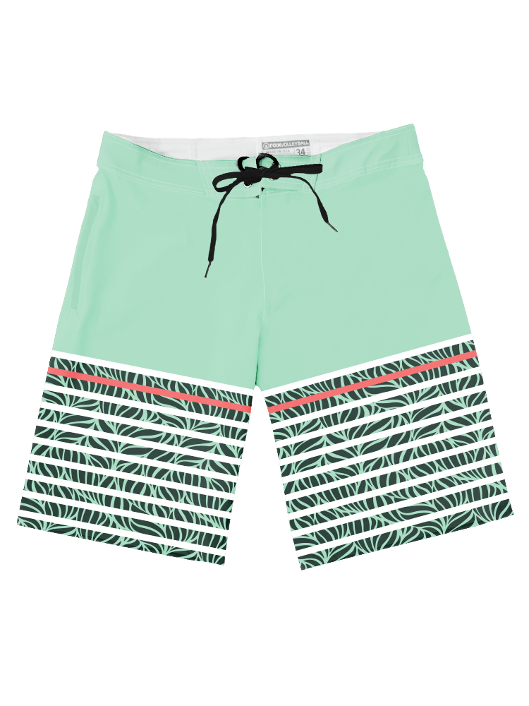 2019 Boardshorts Botanical,Board Shorts - Rox Volleyball