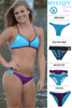 Mystify | 1471 | Menthol/Hawaii Reversible,Beach Tops - Rox Volleyball