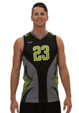 Ace Sleeveless Sublimated Volleyball Jersey |R024M,Men's Jerseys - Rox Volleyball