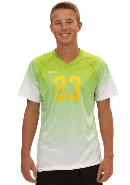 Fade Men's Sublimated Jersey,Men's Jerseys - Rox Volleyball