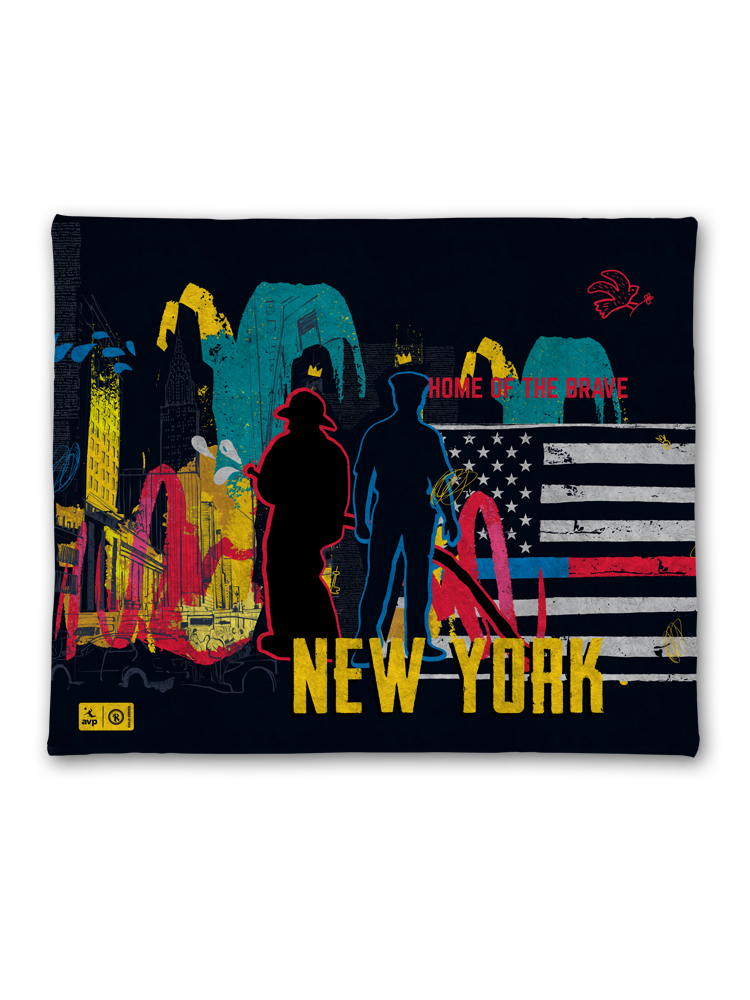 2019 AVP/RVB New York Event Blanket,AVP Items - Rox Volleyball