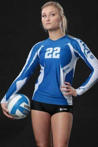 Absolute Womens Sublimated Volleyball Jersey,Custom - Rox Volleyball