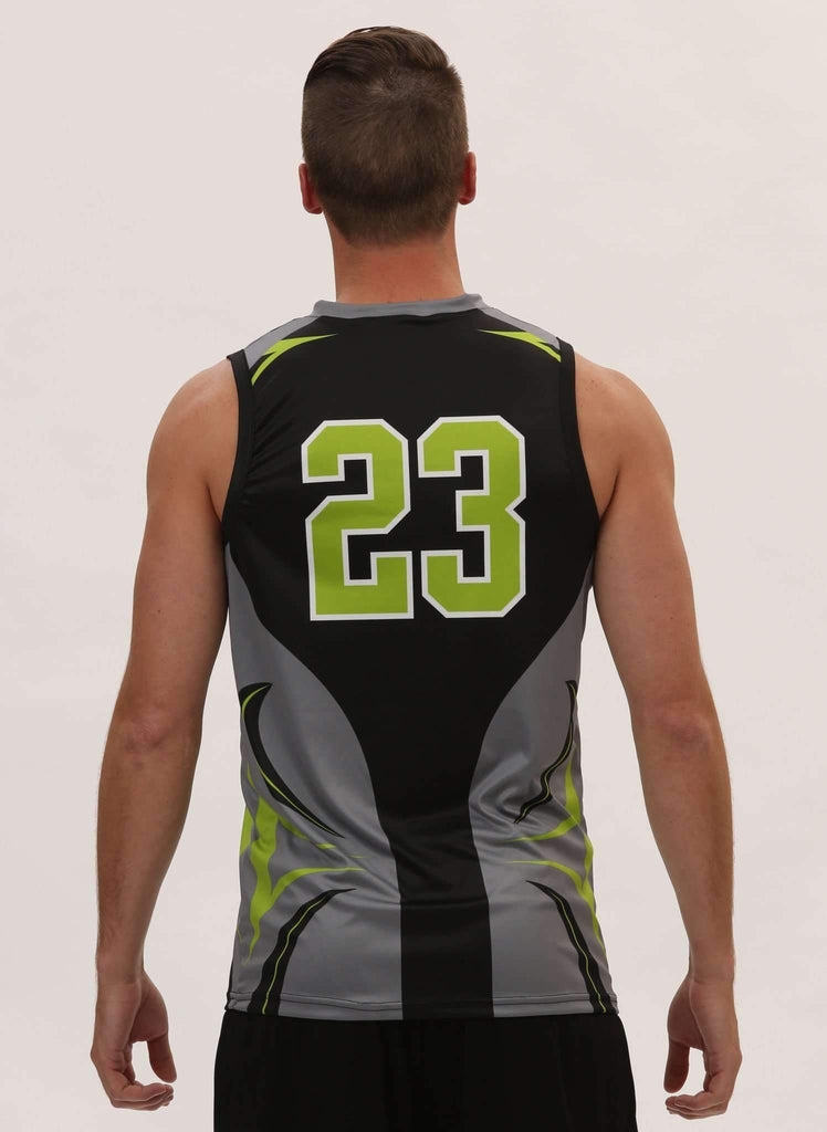 Ace Mens Sleeveless Sublimated Volleyball Jersey