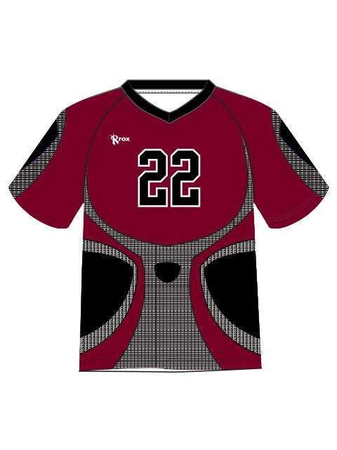 Knight Men's Sublimated Jersey,Custom - Rox Volleyball