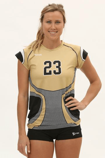 Knight Women's Cap Sleeve Sublimated Jersey
