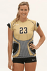 Knight Women's Cap Sleeve Sublimated Jersey,Custom - Rox Volleyball