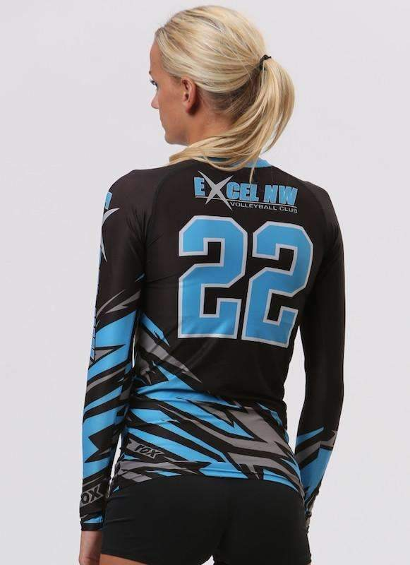 Bolt Women's Sublimated Jersey (3-Color) | R007,Custom - Rox Volleyball