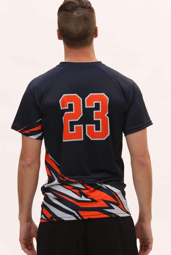 Bolt Men's Sublimated S/S Volleyball Jersey