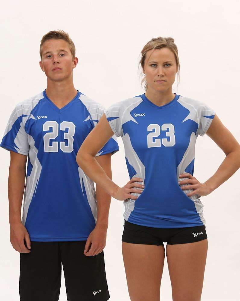 Boom Cap Sleeve Sublimated Jersey,Custom - Rox Volleyball