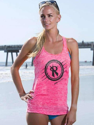 Women's Crop Racer Back Tank | 6682