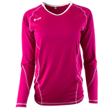Compliant Long Sleeve Volleyball Jersey | 1366 Fuchsia