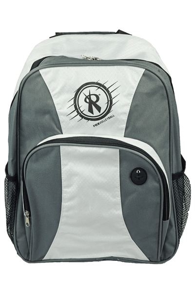 Day Backpack | White/Grey/3128.97,Backpack - Rox Volleyball