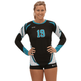 Diamond Sublimated Volleyball Jersey| CUSTOM JERSEY