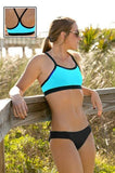 Maia Top  | 1466 | Hawaii/Black,Closeout - Rox Volleyball