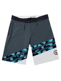 2019 Boardshorts Hibiscus,Board Shorts - Rox Volleyball
