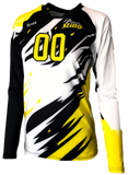Inferno Women's Sublimated Jersey (3-Color) | R022,Custom - Rox Volleyball