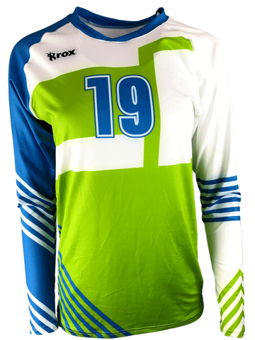 Custom Sublimated Volleyball Team Jersey Uniforms  9528f2a28