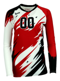 Inferno (3 COLOR) Women's Sublimated Jersey | R022,Custom - Rox Volleyball