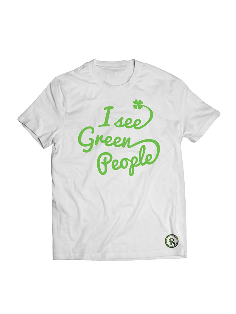St. Patricks Day I See Green People Unisex T-Shirt, - Rox Volleyball