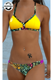 Mystify Performance Top | Diva Maize,Beach Tops - Rox Volleyball