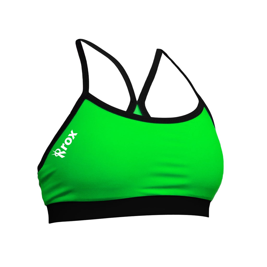 Maia Top  | 1466 | Neon Green,Closeout - Rox Volleyball