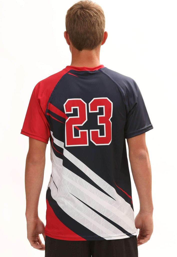 Victory Men's Sublimated Jersey,Custom - Rox Volleyball