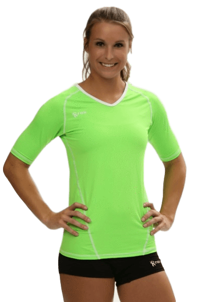 Compliant 1/2 Sleeve Jersey Neon Green | 1365