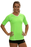Compliant 1/2 Sleeve Jersey | 1365 Neon Green,Women's Jerseys - Rox Volleyball