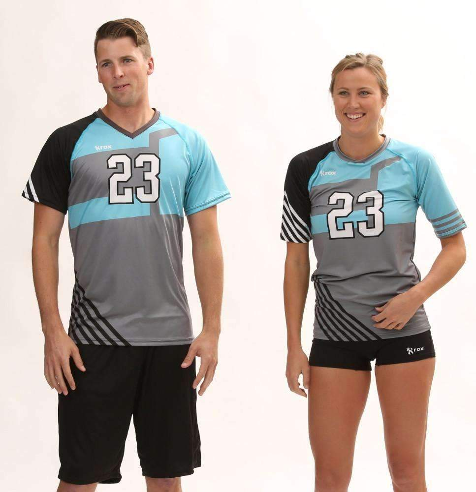 Odyssey Men's Sublimated Jersey,Custom - Rox Volleyball
