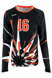 POW Women's Sublimated Jersey,Custom - Rox Volleyball