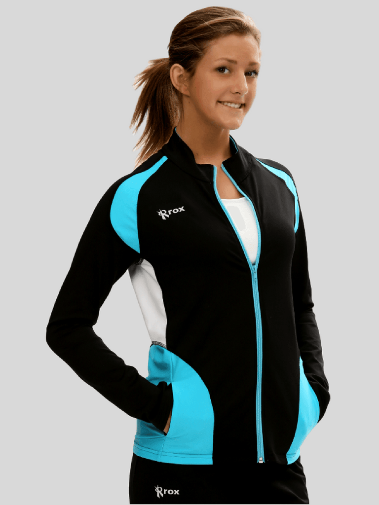 Push 1 Full Zip Jacket | Hawaii | 1372,Women's Jacket - Rox Volleyball