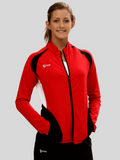 Push 1 Womens Volleyball Jacket | Red | 1372