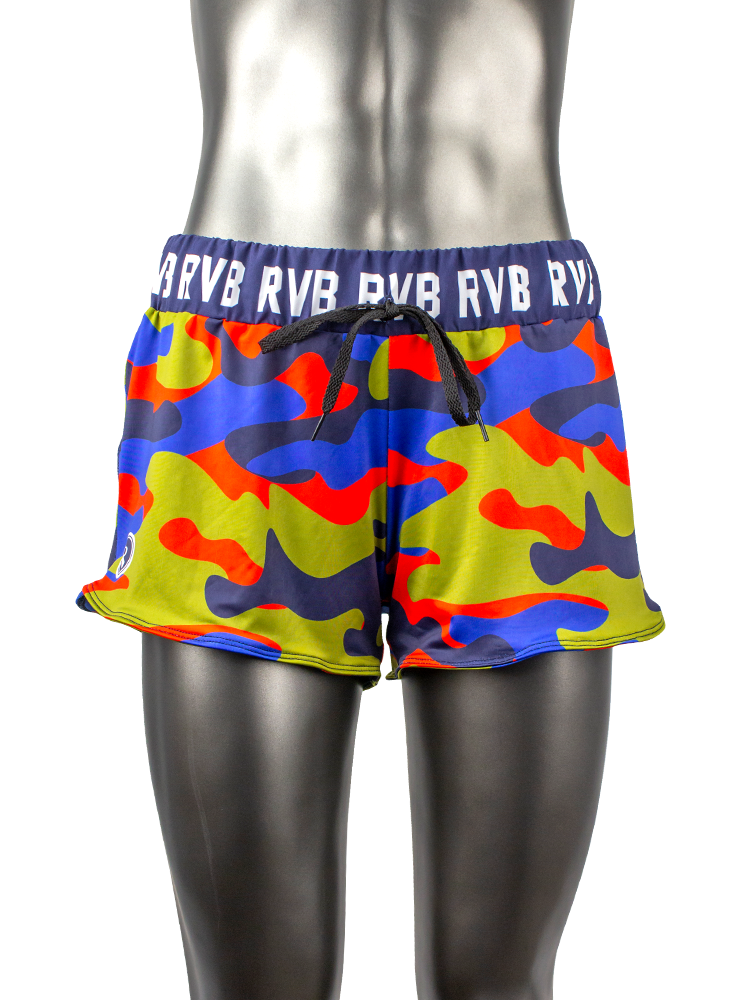 Volley Flo 2.0 Short | 1432 | RVB Camo, - Rox Volleyball