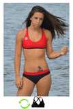 Amplify | 1468 | Black/Red Reversible,Closeout - Rox Volleyball