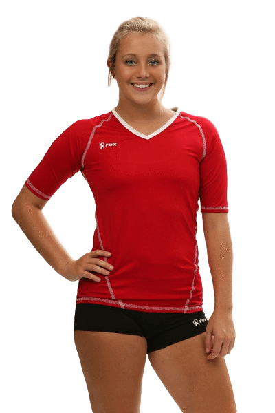 Compliant 1/2 Sleeve Jersey  | 1365 Red