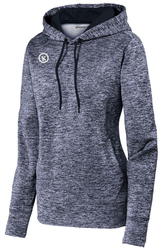 Womens Electric Heather Fleece Pullover | LST225, - Rox Volleyball