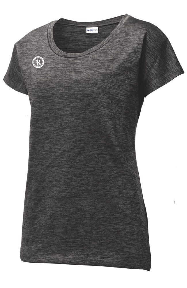 Womens Electric Heather Sport Tee | LST390