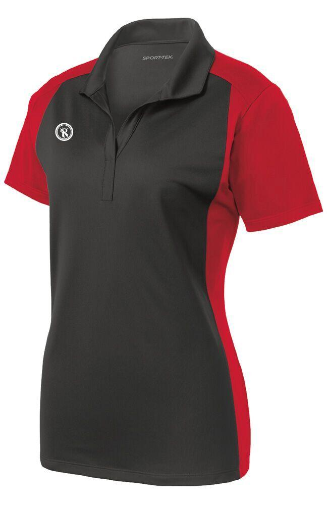 Womens Colorblock Sport Wick Polo | LST652