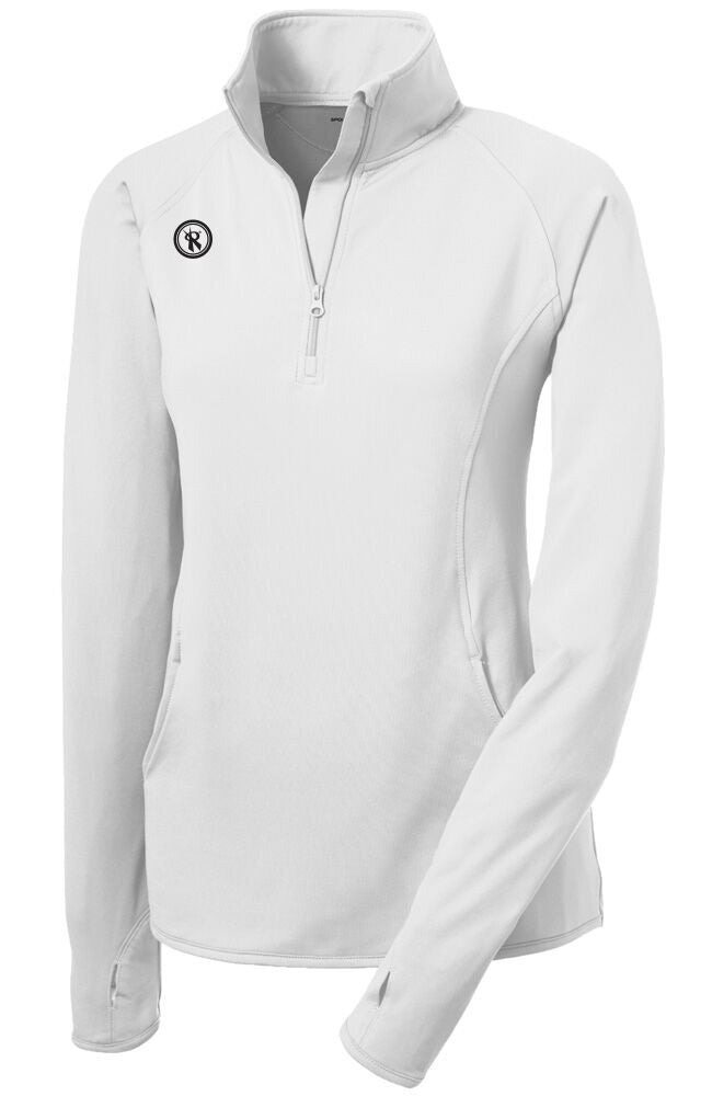 Womens Sport Wick Stretch 1/2 Zip Pullover | LST850, - Rox Volleyball