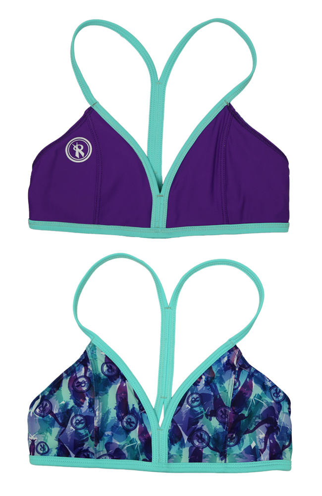 Mystify | 1471 | Playtime/Brooke/Marine Reversible,Beach Tops - Rox Volleyball