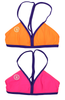 Mystify | 1471 | Paperino/Electric Pink Reversible,Beach Tops - Rox Volleyball