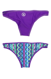 Rhapsody | 1444 | Digzag/Playtime Reversible,Beach Bottoms - Rox Volleyball