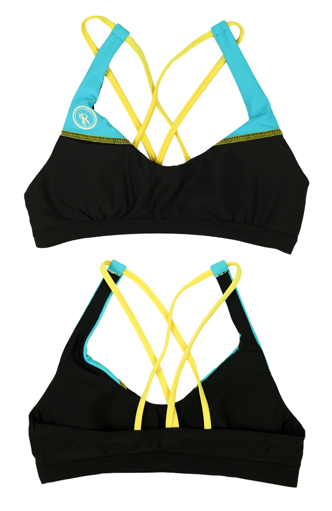 Tri-Star | 1467 | Black/Hawaii/Maize,Beach Tops - Rox Volleyball