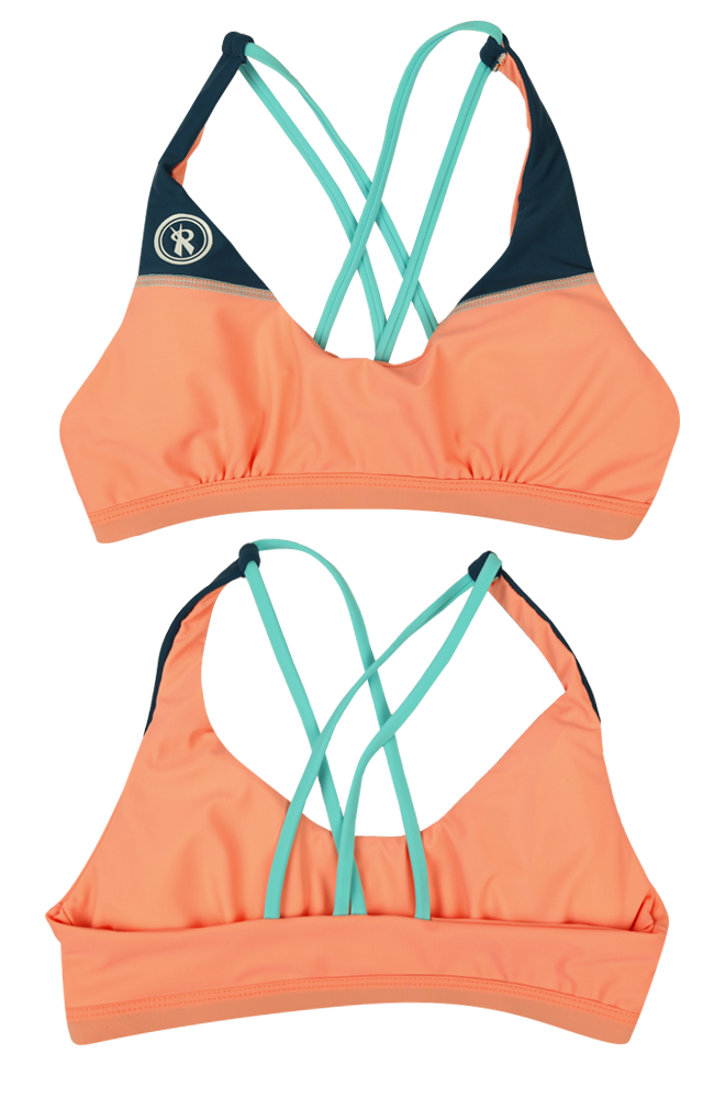 Tri-Star | 1467 | Souffle/Fiji/Marine,Beach Tops - Rox Volleyball