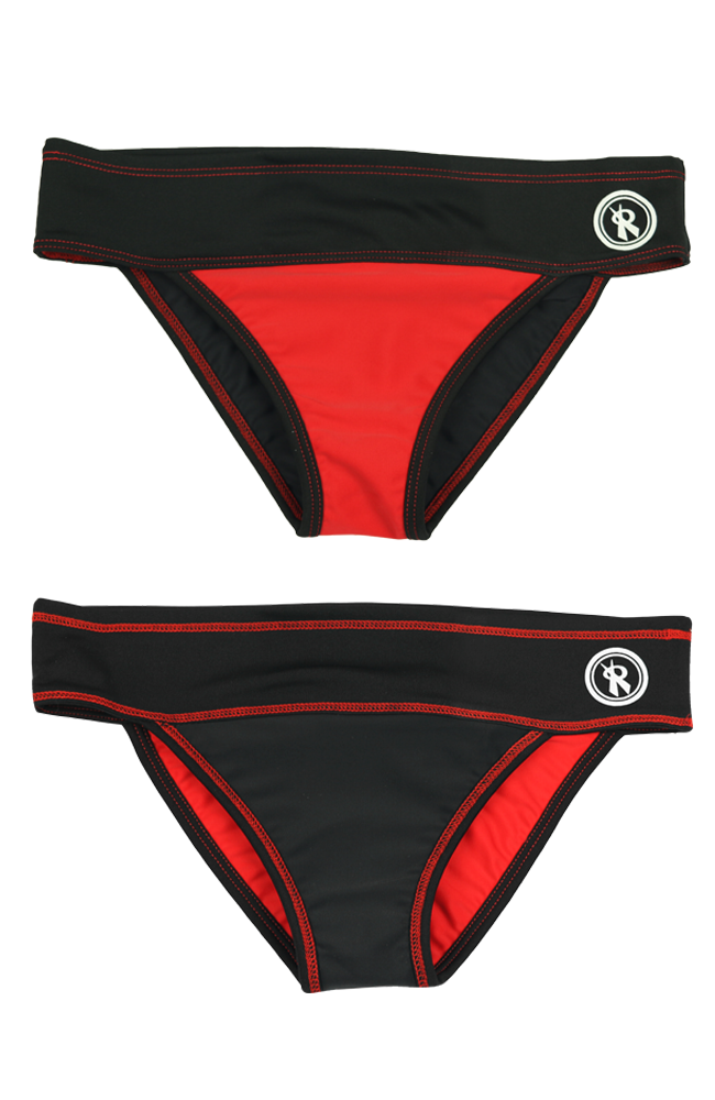 Teenie Pro | 1406 | Red/Black Reversible,Beach Bottoms - Rox Volleyball