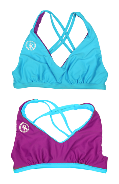 Amplify | 1468 | Hawaii/Diva Reversible,Beach Tops - Rox Volleyball