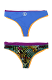 Quad Bottom | 1484 | Diva Maize Reversible,Beach Bottoms - Rox Volleyball