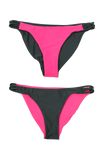 Twine Bottom | 1469 | Titanium/Electric Pink Reversible,Beach Bottoms - Rox Volleyball