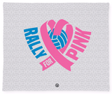 Rox Rally For Pink | Micro Fleece Blanket