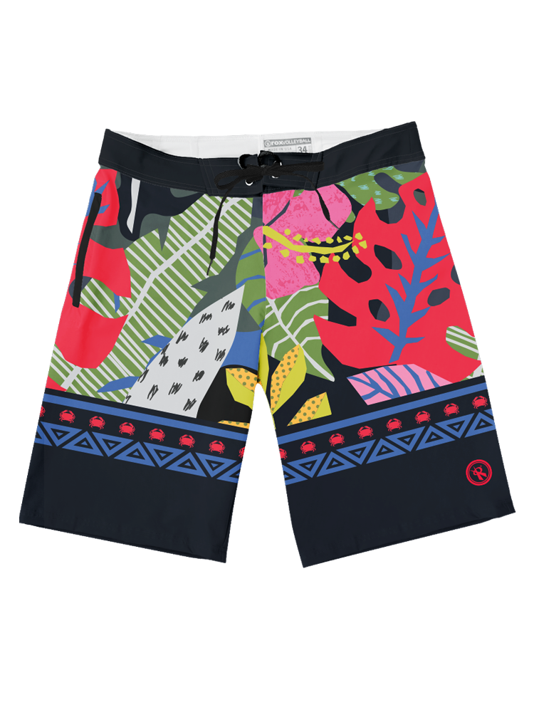 2019 Tribe Crabb | King Crabb Boardshorts,Board Shorts - Rox Volleyball